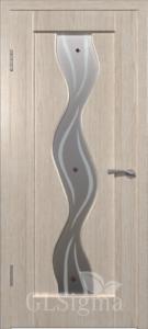 Беленый дуб Белое, худ.матирование ,фьюзинг GLSigma 42