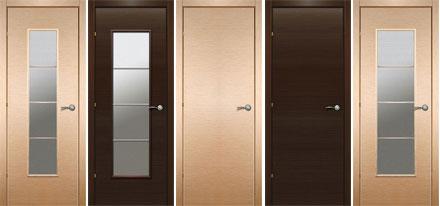 Щитовые двери линии 900 шпон