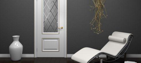 Межкомнатные белые двери