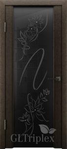 GL Triplex 1  черный шелк  черный триплекс с рисунком Цена: 5265 руб.