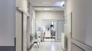 Двери для больниц и медицинских центров