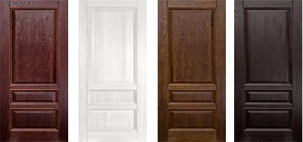 Двери из массива дуба. Серия Аристократ №1.