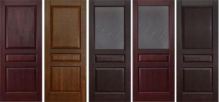 Двери межкомнатные из массива ольхи. Серия Валенсия