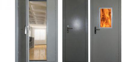 Противопожарные двери входные в Магнитогорске.