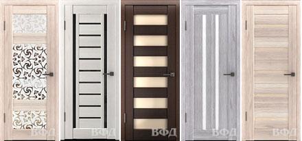 Межкомнатные двери с покрытием из полипропилена LINE®.
