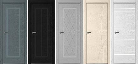 Межкомнатные двери линии 770 с натуральным шпоном