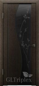 GL Triplex 3  черный шелк  черный триплекс с рисунком Цена: 6825 руб.