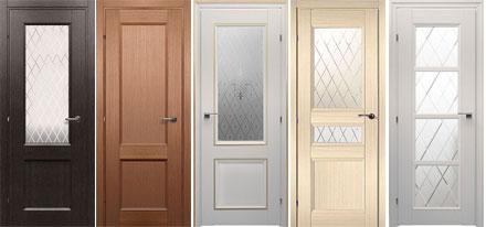 Классические деревянные двери 3000 CPL из массива
