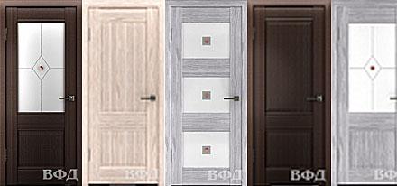 Межкомнатные двери CLASSIC с покрытием из полипропилена.