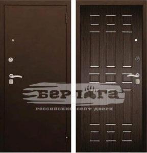Сейф-дверь Брасс Венге